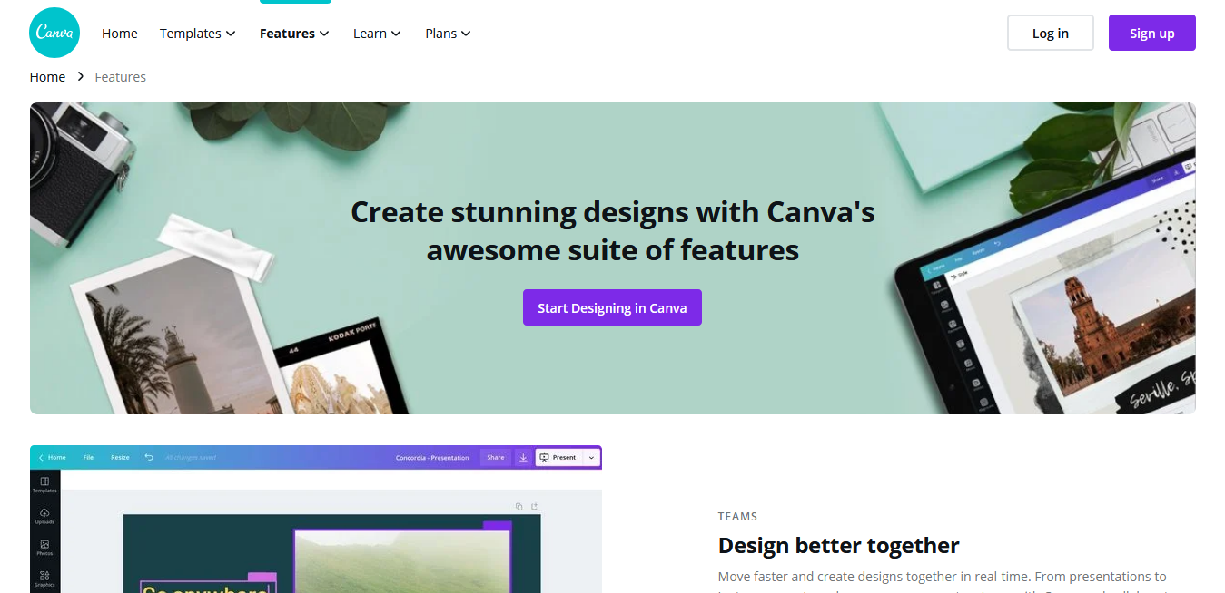 Free Social Media Management Tools #1 - Canva